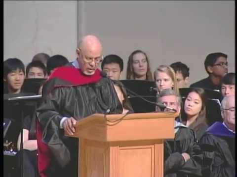 Ambassador James A. Joseph Commencement Speaker 2014