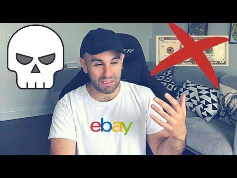 eBay Dropshipping Horror Story - HORRIBLE BUSINESS MODEL FOR BEGINNERS