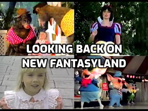 Looking Back On The Opening Of New Fantasyland (1983)