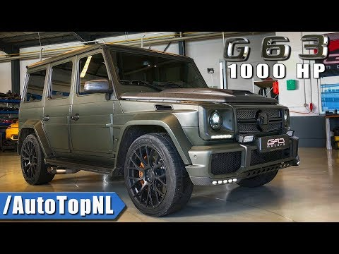 1000HP G63 AMG By GAD Motors Review - FASTEST G CLASS IN THE WORLD By AutoTopNL (English Subtitles)