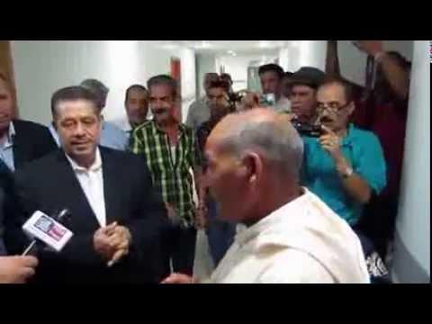 Chabat visite hopital Oujda