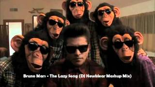 Bruno Mars - The Lazy Song (DJ Newklear Mashup Mix) [HQ + DOWNLOAD]