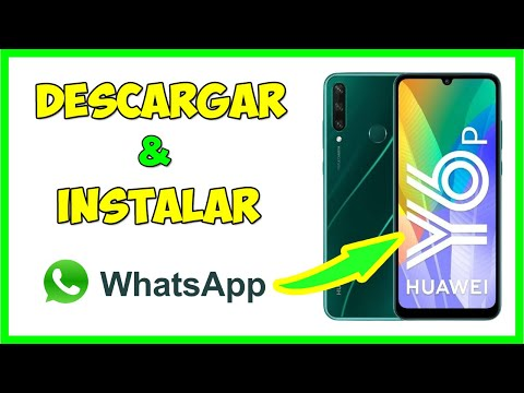 Como instalar WhatsApp en Huawei Y6p, Como descargar whatsapp en huawei y6p