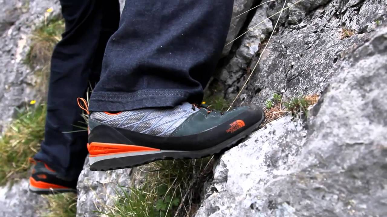 c04ee4f8a06 The North Face Verto Plasma - Lightweight Approach Shoe - YouTube