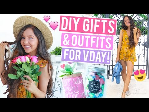 Valentine's Day DIY Gifts, Treats + Outfits 2017! Gifts + Snacks You'll ACTUALLY Want!