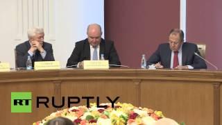 Belarus: Lavrov lauds Russian-Belarusian relations