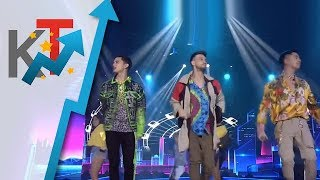 James Reid, Sam Concepcion and Billy Crawford give a sneak peek of their concert