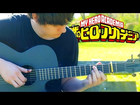 Boku no Hero Academia OP - THE DAY - Fingerstyle Guitar Cover