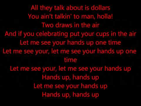 Swizz Beatz -- Hands Up -Feat Lil Wayne, Nicki Minaj, Rick Ross & 2 Chainz [Official Lyrics Video]