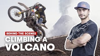 Behind The Scenes Of An Epic Ride Up A Volcano In Guatemala