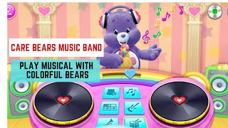 Care Bears Music Band, Play Musical With Colorful Bears - Baby Fun Games