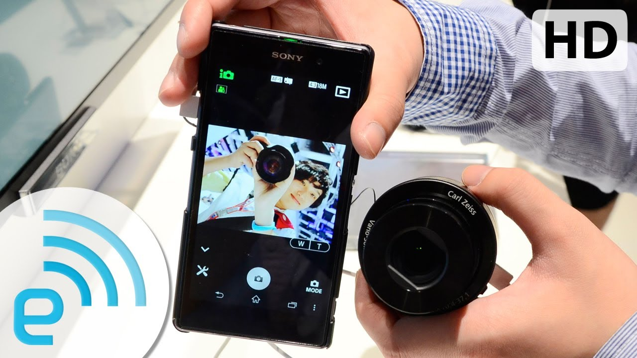 Sony Cyber-shot QX10 兩天體驗後感| Engadget 中文版 - YouTube