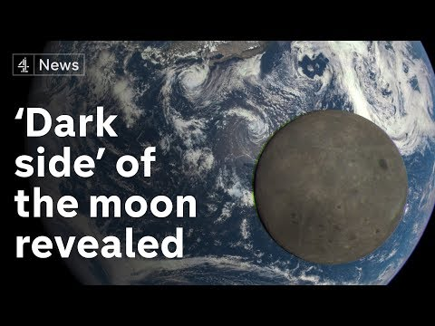 'Dark side' of moon seen from surface for first time