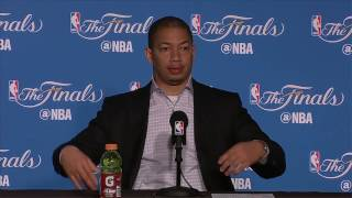 Tyronn Lue Postgame News Conference | Warriors vs Cavs Finals Game 2 | June 4, 2017