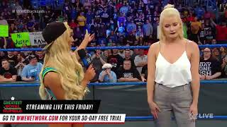 Smackdown live 25 april 2018 : Charlotte Flair & Carmella sign contract for their match at Backlash: