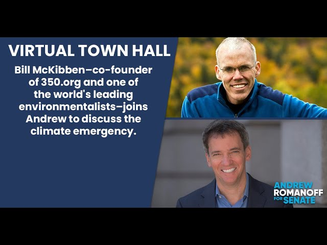 Virtual Town Hall: The Climate Emergency