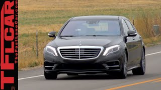 Mercedes-Benz S550 4MATIC Review: Over 2 Tons of Twin-Turbocharged Luxury