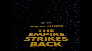 Star Wars The Empire Strikes Back: SP FX 1980 Documentary