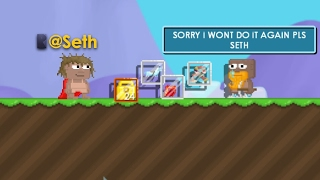 @SETH STOPPED A SCAMMER? GROWTOPIA