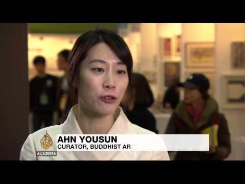 Biggest Buddhist art festival opens in South Korea