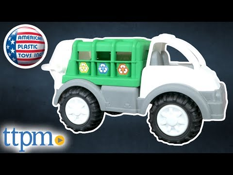 Gigantic Recycling Truck From American Plastic Toys