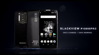 Official 3D graphic video of Blackview P10000 Pro