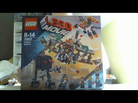 LEGO Live Construction : The LEGO Movie's Creative Ambush (1/2) [Français]