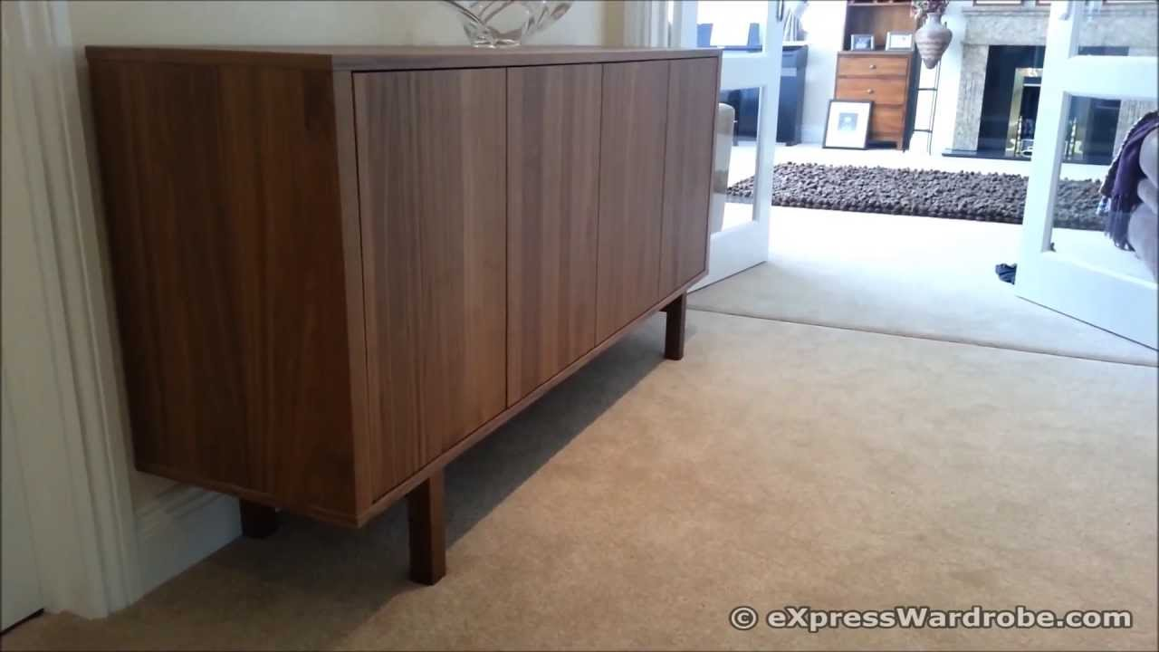 Credenza Madia Ikea : Ikea stockholm sideboard design youtube