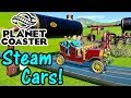 Let's Play Planet Coaster #11: Steam Cars!