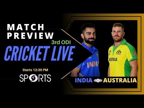 India Vs Australia - Series Decider Match Preview | CRICKET LIVE | DD Sports