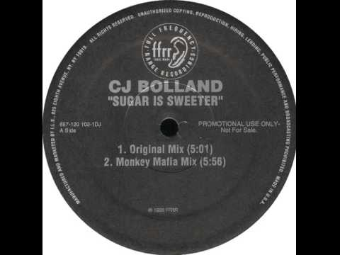 CJ Bolland  Sugar Is Sweeter Monkey Mafia Mix