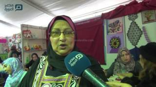 مصر العربية | حورية.. قصة كفاح من وزارة الثقافة  لمعرض الكتاب
