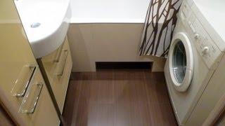 Ремонт ванной комнаты и туалета г. Москва ул. Верхние поля д.42 корп.1 / Repair bathroom and toilet