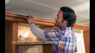 Installing Crown Molding On Rta Kitchen Cabinets