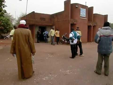 Border crossing Mali - Burkina Faso. Koloko pass.