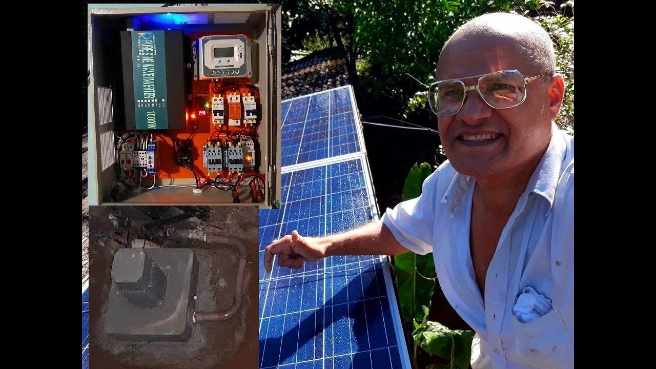 Foi Proso Professor Pardal Brasileiro teria Inventado A Único Micro Usina PCH Conjugada Fotovoltaica
