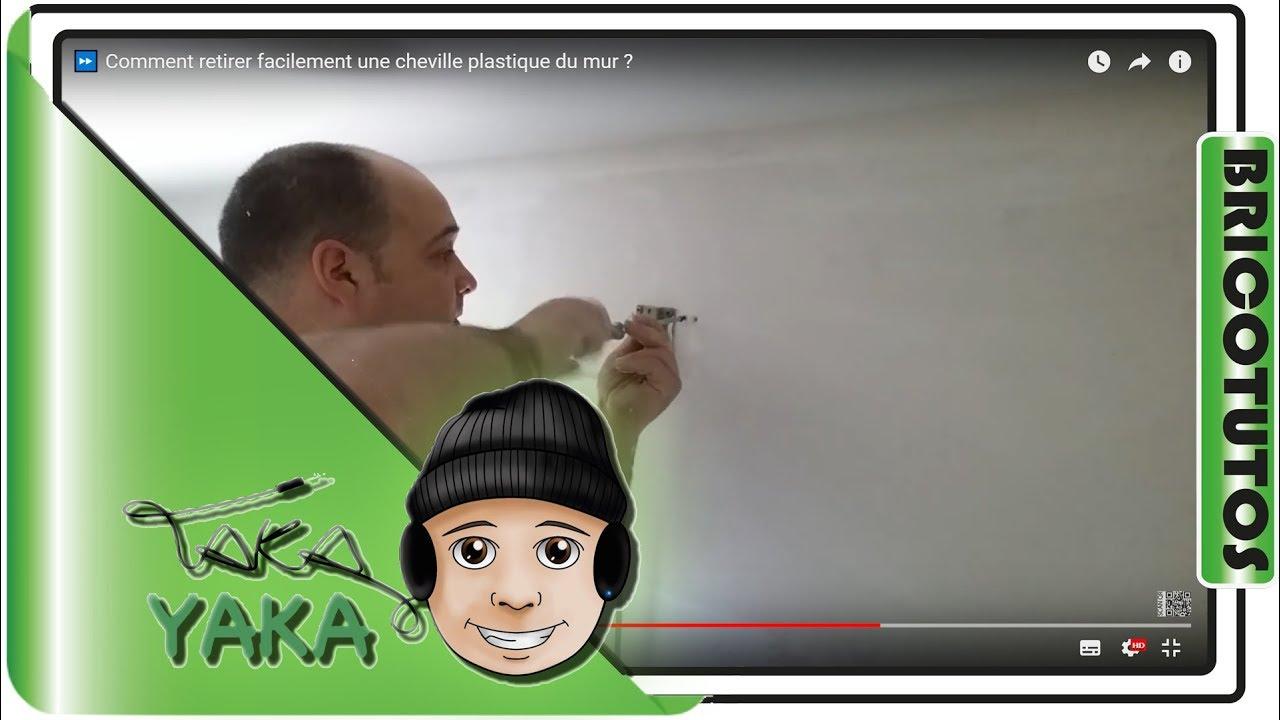 1 astuce peinture retirer facilement cheville plastique du mur youtube. Black Bedroom Furniture Sets. Home Design Ideas