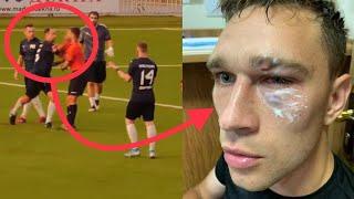 Реакция простых людей на Романа Широкова избившего судью на матче Никита Данченков игрок Амкала