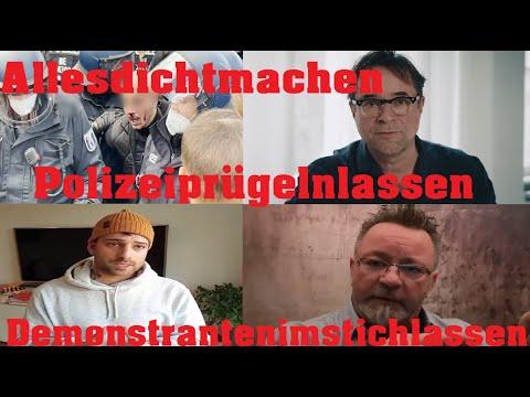 Berlin 21.4 Die Demo von den alternativen Medien im Stich gelassen & allesdichtmachen Jan J.Liefers