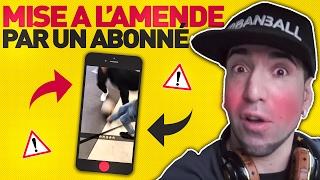 UN ABONNE ME MET A L'AMENDE!!! La Vlogance #1 thumbnail