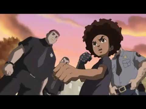 The Boondocks   Favorite Huey Fight Scenes