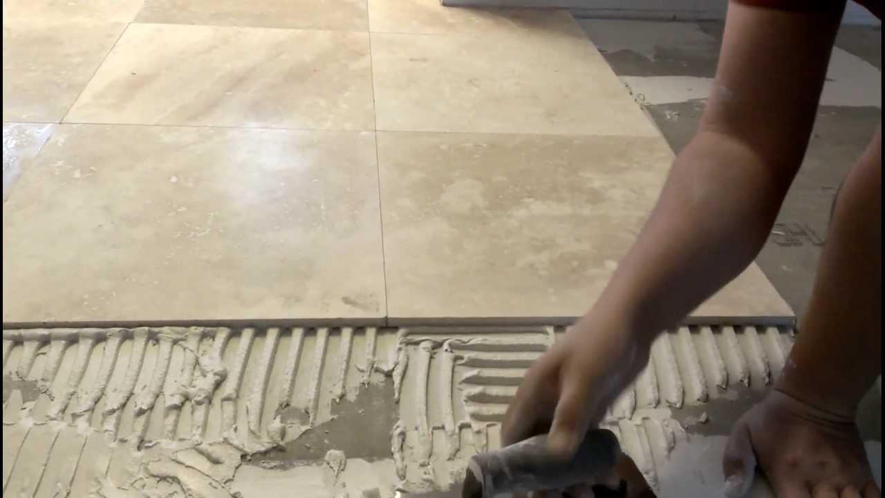 Como instalar losas de marmol sin espacios youtube for Como limpiar pisos de marmol