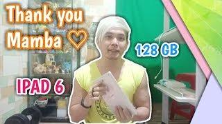 TERCYDUK !! UNBOXING IPAD 6 128GB THANKS TO MAMBA / OPLET TUA !!