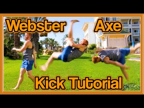 Webster Axe Kick Tutorial (One Leg Front Flip Kick) | GNT How to