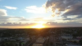 Chasing the Sunset with my Drone! (DJI Phantom 4)