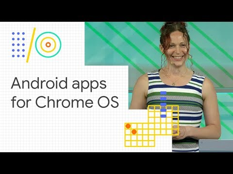 What's new in Android apps for Chrome OS (Google I/O '18)