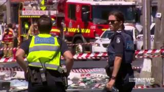 Shocking moment truck exploded on Melbourne road killing the driver