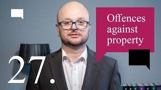 27. Offences against property - Szkoła języka angielskiego dla prawników w Warszawie