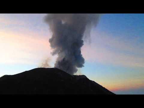 Volcan Santiaguito, Quetzaltenango, Guatemala (Santa Maria)