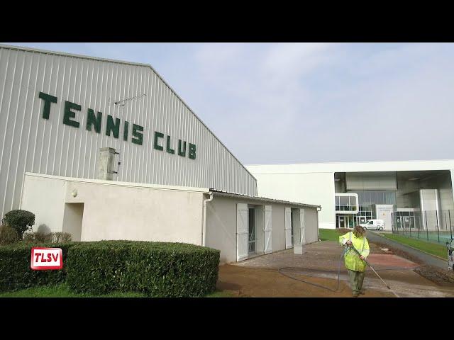 Luçon : le tennis club se refait une beauté
